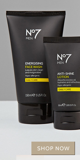 No7 Men Energising Face Wash 150 ml