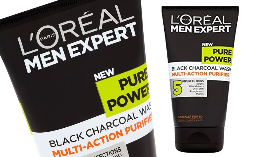 L'Oreal Men Expert Pure Power Black Charcoal Wash