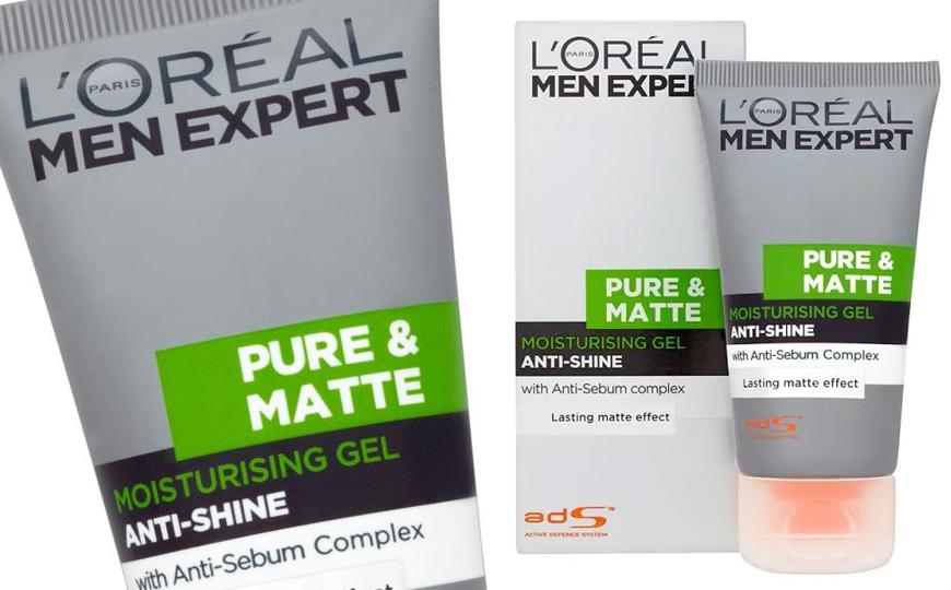 L'Oreal Men Expert Pure & Matte Moisturising Gel
