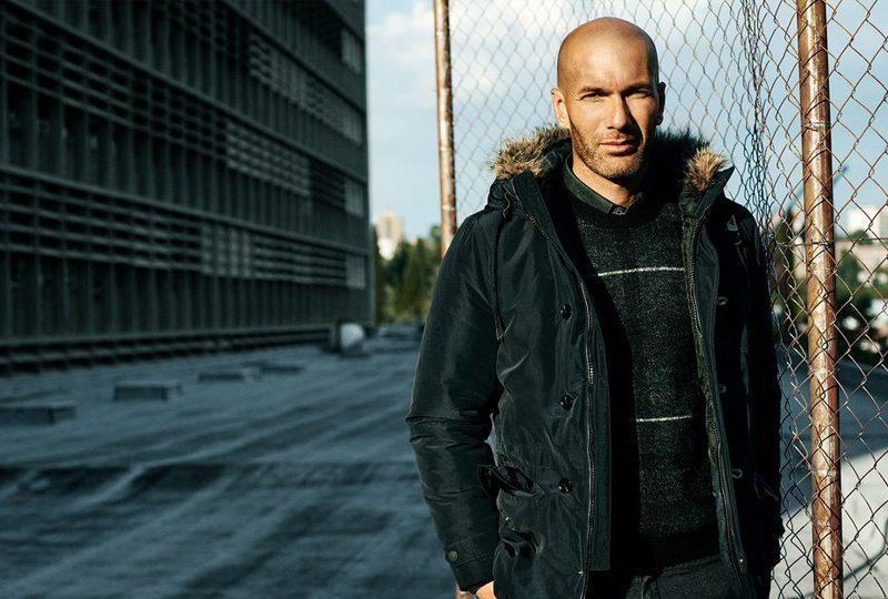 Zinedine Zidane Fashion