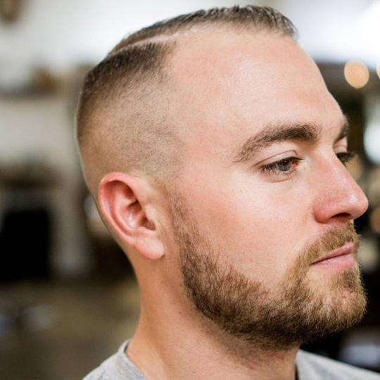Mens Combover With Fade