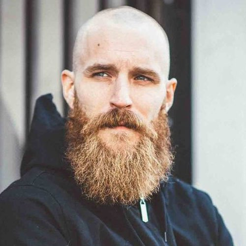 Bald With Beard Best Beard Styles For Bald Men The Bald Gent - Facial hair styles bald guys