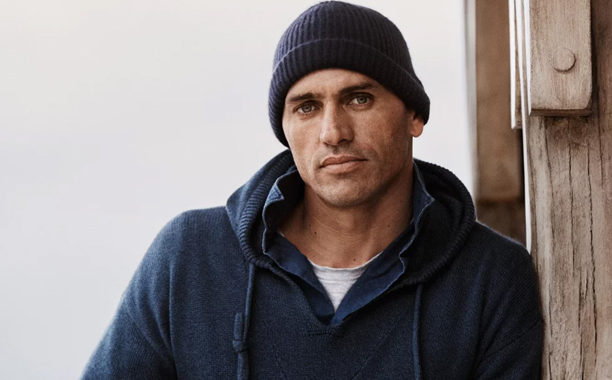 Kelly Slater winter fashion