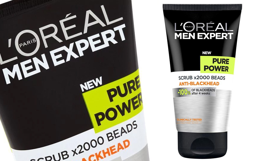 L'Oreal Men Expert Pure Power Blackhead Face Scrub