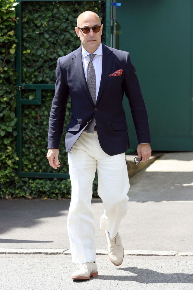 Stanley Tucci Chinos