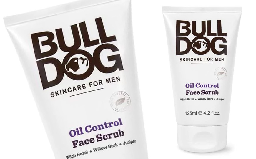 bulldog face scrub review bulldog oil control face scrub the bald gent 6004