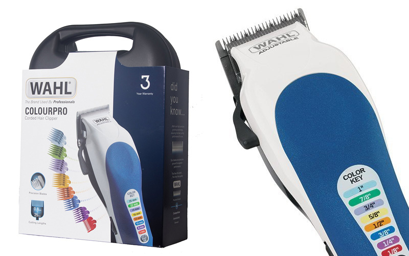 best haircutting kit wahl colourpro colour coded haircutting kit review 3932