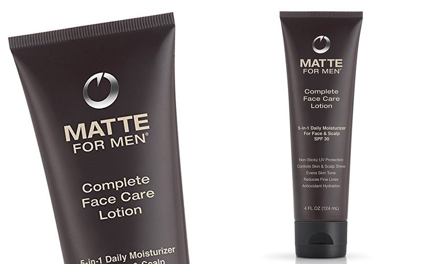 Matte For Men Complete Face Care Lotion