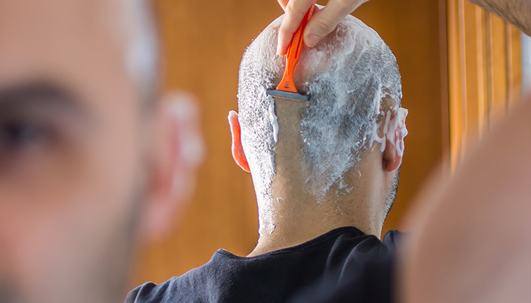 Join told cream for shaved mens head