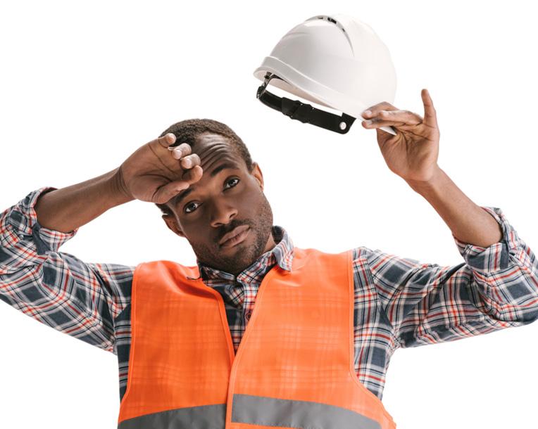 Wearing headgear
