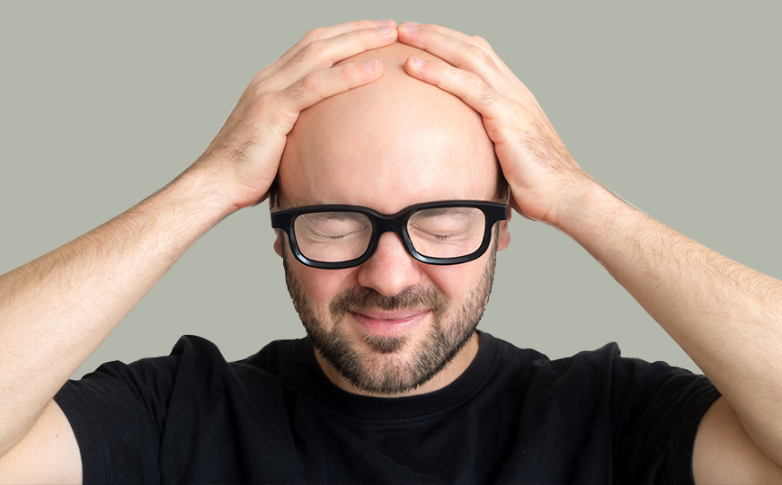 Shaved Your Head But Still Have Dandruff Here Is How To Treat It The Bald Gent